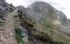 Den slinga som startar norr om El Torcal leder bland annat över en välbevarad romersk väg.