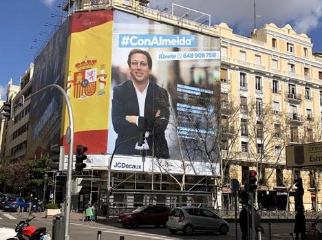 Ciudadanos kunde ha erhållit borgmästarposten i Madrid, men valde till slut att släppa fram PP:s José Luís Martínez Almeida.
