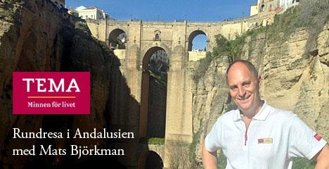 Sydkustens Mats Björkman leder i höst två rundresor i Andalusien, i Tema Resors regi.