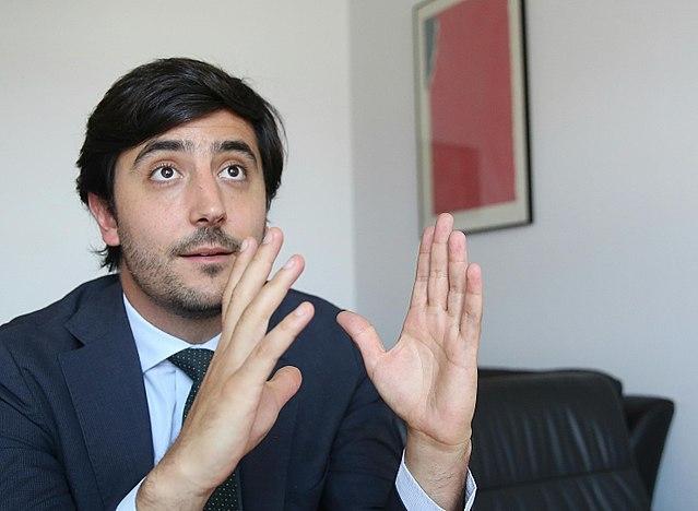 Toni Roldán har varit Ciudadanos ekonomiska talesman i parlamentet. Foto: Marta Jara (eldiario.es)