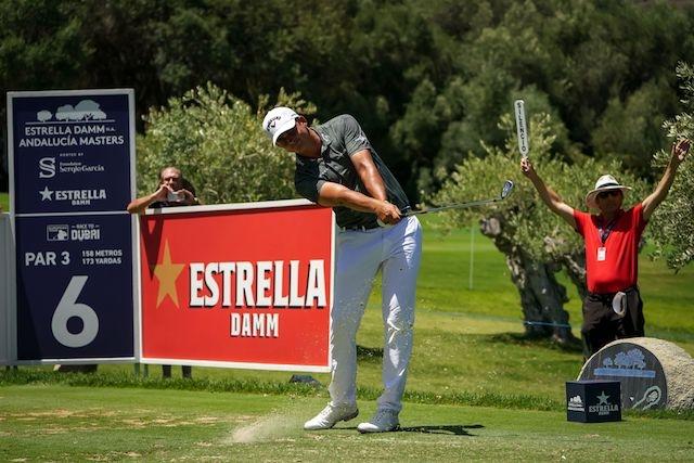 Christiaan Bezuidenhout noterade sin första seger på Europatouren, med hela sex slag framför bland annat fyra spanjorer. Foto: Estrella Damm Valderrama Masters
