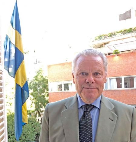 Lars-Hjalmar Wide tar med sig många minnen från sina tre år som Sveriges ambassadör i Madrid. Han nämner bland annat sitt enskilda möte med kung Felipe VI samt statsminister Stefan Löfvéns besök förra året.