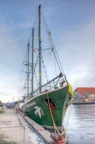 Segelfartyget Rainbow Warrior. Foto: Klearchos Kapoutsis