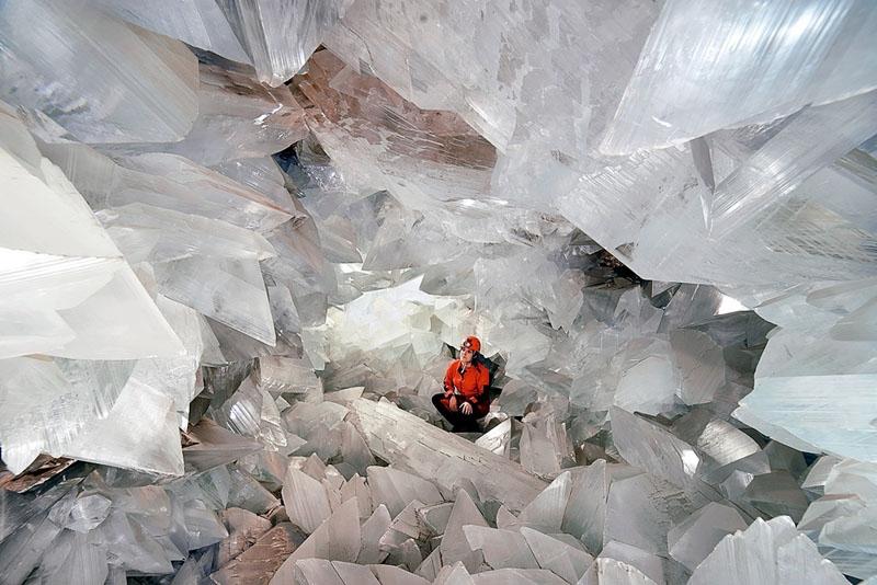 Kristallgrottan i Almería är den näst största i världen och den största som öppnas för allmänheten. Foto: Ayto de Pulpí