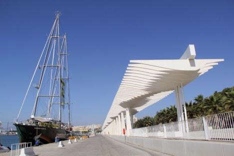Miljöorganisationen Greenpeace lade i juli till med sitt flaggskepp Rainbow Warrior i Málaga. Det skedde inom ramen för en europeisk kampanj mot klimatförändringar.