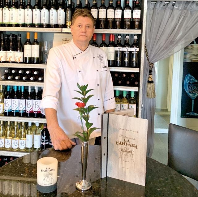 Den 26 maj slog Styrbjörn Holm upp dörrarna för nya restaurang la Campana.
