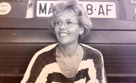 Arkivfoto av Guillermina Freniche, som offentliggjordes av hennes barn när de bad att hon ej skulle tvångsmatas.