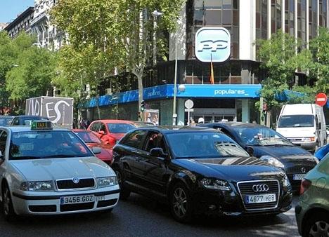 Datorerna förvarades och raderades på Partido Populars huvudkontor i Madrid.