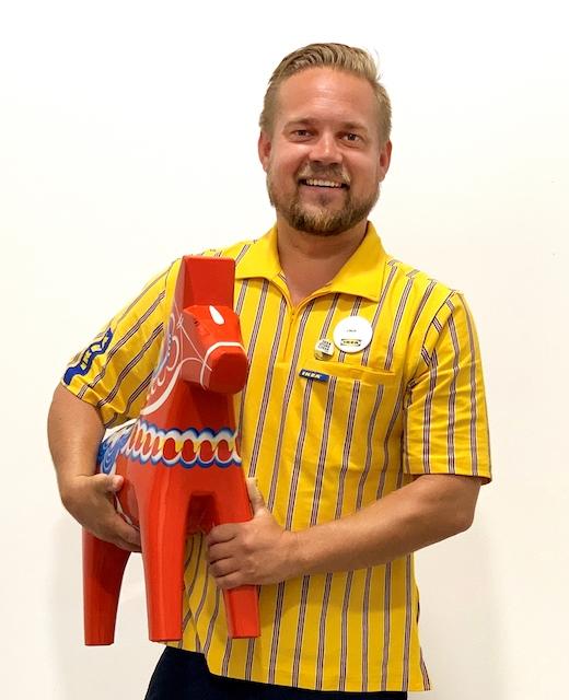 Nya IKEA-chefen i Málaga Linus Frejd har just flyttat till Costa del Sol med familjen från Helsingborg.