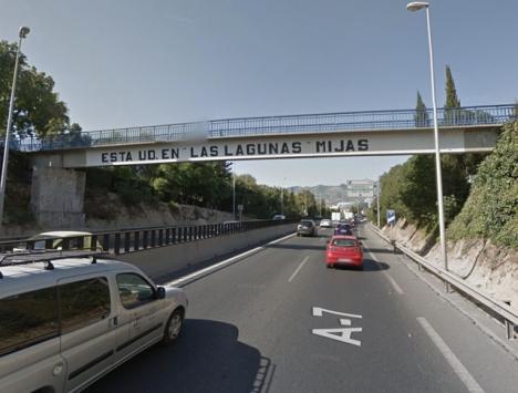Olycksplatsen. Foto: Google Maps.