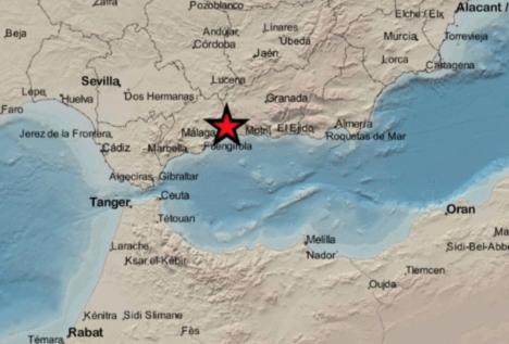 Bara i september har det hittills registrerats tio skalv i Málagaprovinsen.