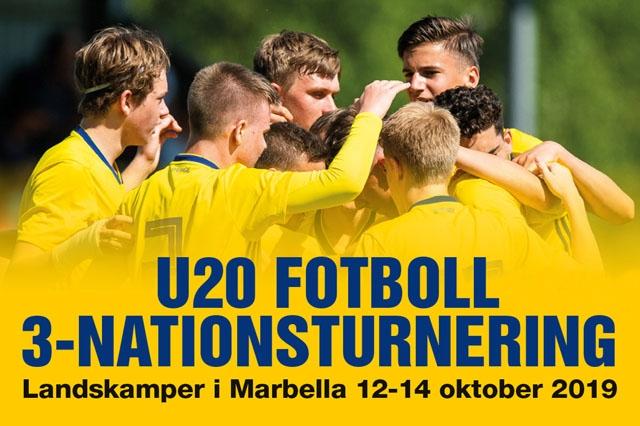 Sveriges främsta fotbollslöften tar sig an Frankrike och Norge i Marbella.
