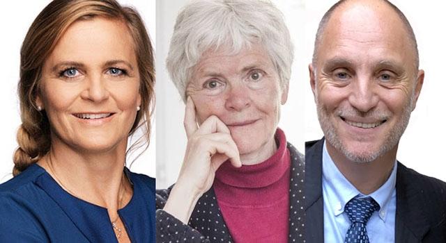 Tina Thörner, Inger Enkvist och Mats Björkman inleder en föredragsserie som pågår under hela läsåret, men anledning av att Svenska skolan i Fuengirola firar 50 år.