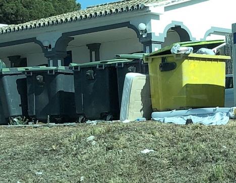 Förekomsten av ett stort antal dumpade madrasser i Torrevieja tillskrivs flera orsaker. ARKIVBILD
