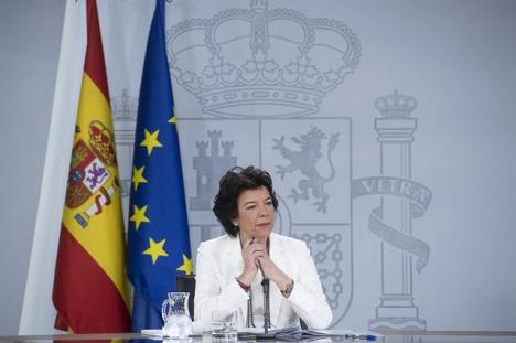 Det är inte första gången som utbildningsministern Isabel Celaá prickas för bristande opartiskhet.