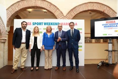 Marca är den ledande sporttidningen i Spanien och har valt Marbella för sitt unika evenemang. Foto: Ayto de Marbella