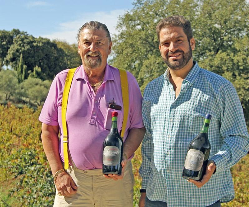 Rickard Enkvist planterade sina första vinstockarna 1998, som ren dekoration. Tillsammans med enologen José Manuel Cozar Cabañas har han dock grundat Bodega Cezar, som vunnit en mängd priser och nu även expanderar.