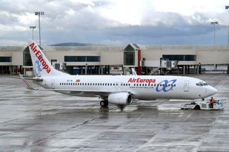 Air Europa ingår i resegruppen Globalia och har en viktig andel av marknaden i Sydamerika.