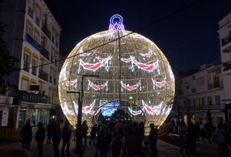 San Pedro Alcántara har redan tidigare haft ljudspel vid huvudgatan Marqués del Duero.