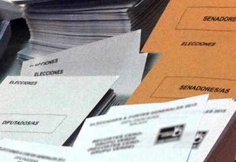 Valresultatet i Vizcaya var så jämnt att poströsterna stjälpt ett mandat från PNV till PP. ARKIVBILD