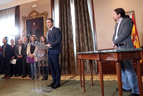 Avtalet mellan PSOE och Unidas Podemos kan endast förklaras med att de funnit att alternativen är betydligt sämre.