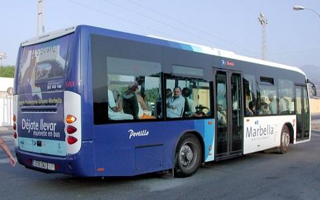 Sedan gratiskortet för mantalsskrivna infördes har antalet passagerare i Marbellas lokalbussar ökat med 54 procent.