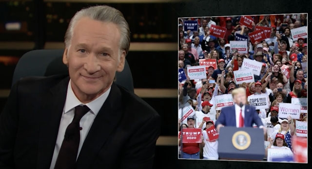 Här firas inte Thanksgiving, men en amerikansk komikers begrundan gäller lika mycket för Spanien. Foto: Real Time with Bill Maher.