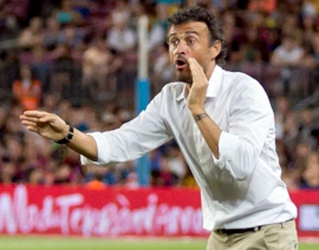 Luís Enrique gör come-back, på bekostnad av sin tidigare medhjälpare Robert Moreno.
