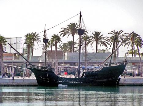 Fartyget, som tidigare legat i hamn i Málaga. Foto: Daniel Capilla/Wikimedia Commons