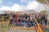 Det blev en skön dag på landet, efter flera dagars regn på Costa del Sol. Omkring 45 personer deltog i evenemanget.