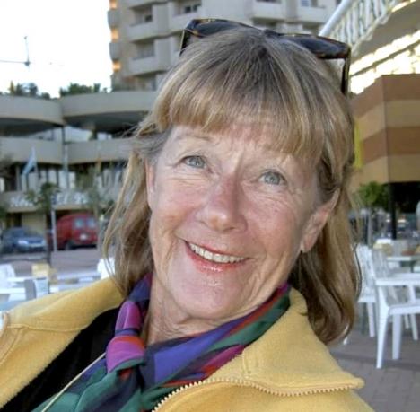 Birgitta Lönegren Terpstra anlände till Fuengirola 1977 och avled där 24 oktober i år, 85 år gammal. Foto: Bambi Elinsdotter Oscarsson