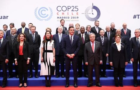 Klimatmötet i Madrid COP25 pågår till och med 13 december.