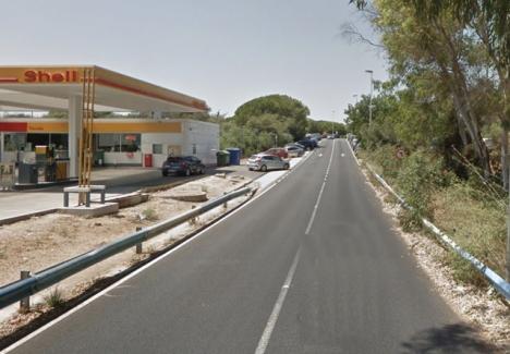 Det tredje maffiamordet på endast två veckor utfördes nära campingplatsen vid Cabopino, i östra Marbella. Foto: Google Maps