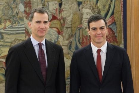 Allt tyder på att det åter blir socialistledaren Pedro Sánchez som kommer att få uppdraget att försöka bilda regering. Foto: PSOE
