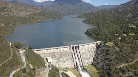 Dammen La Concepción i Marbella rymmer endast 32 procent av sin maximikapacitet. ARKIVBILD