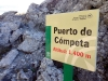 Bergspasset Puerto de Cómpeta klaras av i början av vandringen.