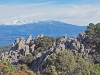 Från denna position kan man se inte bara Pico Veleta vid Sierra Nevada, utan även El Mulhacén som är Spaniens högsta topp.
