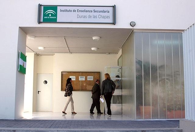 Eleverna som avstängts går på högstadieskolan Las Dunas, i Las Chapas.