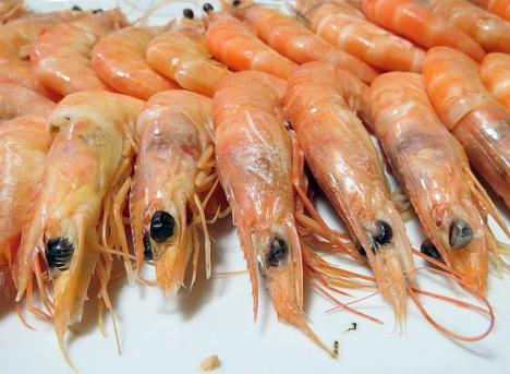 Spanjorerna äter traditionellt stora mängder skaldjur vid jul- och nyår. Foto: Basotxerri/Wikimedia Commons