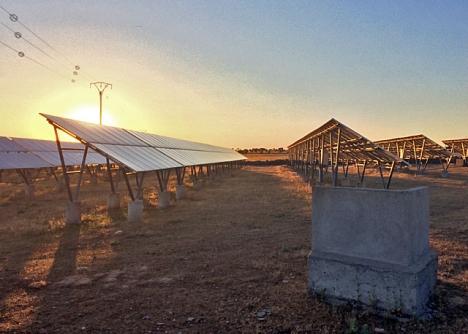 Under 2019 ökade den spanska kapaciteten att alstra solenergi med hela 66 procent.