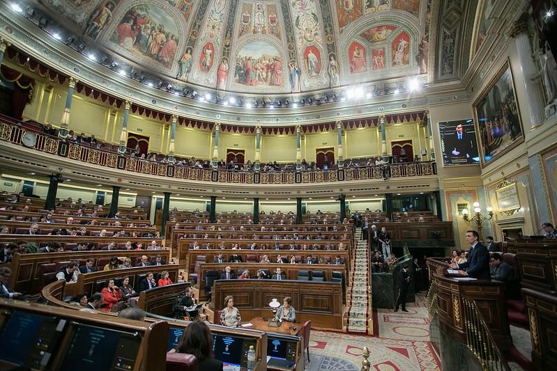 Socialistledaren Pedro Sánchez väntas bli omvald som regeringschef 7 januari, med blott två rösters marginal. Foto: PSOE