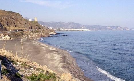Tillslaget gjordes strax före nyårsafton vid stranden El Playazo, öster om Nerja.