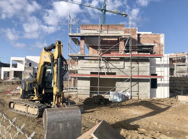 Priset på nya fastigheter steg 2019, men mindre än föregående år.