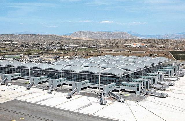 Flygplatsen Alicante-Elche. ARKIVBILD Foto: Comandancia/Wikimedia Commons