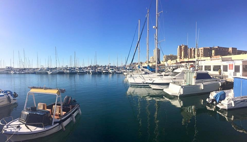 Fritidshamnen i Fuengirola. ARKIVBILD