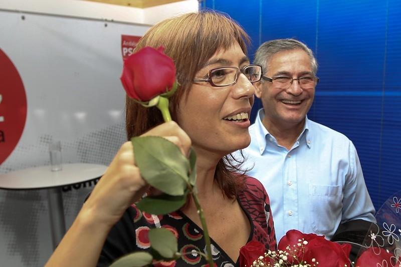 María Gámez har en markerad politisk bakgrund inom socialistpartiet PSOE i Málaga, där hon bland annat varit borgmästarkandidat. Foto: Maria Gamez/flickr