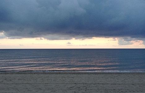 Vintern kommer sent, men med besked på Costa del Sol.