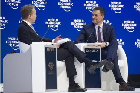 Siffrorna har presenterats inför finanstoppmötet i Davos. Bilden är från förra årets möte.