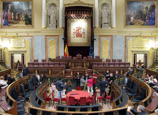 Riksparlamentet Congreso de los Diputados.