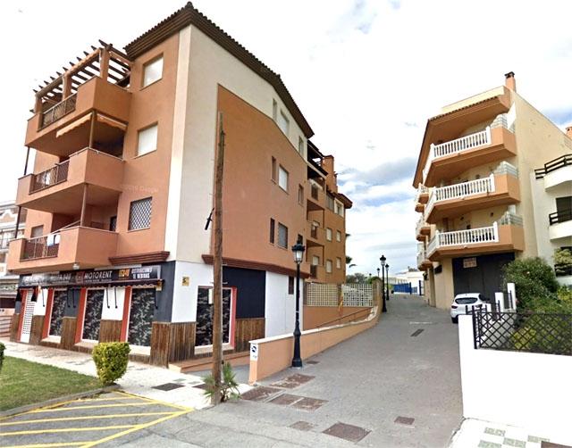 Calle Chorrillo del Agua i Torrox. Foto: Google Maps